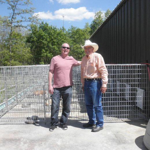 Puppies 'N Love & Animal Kingdom owner Frank Mineo Jr. visiting Hank
