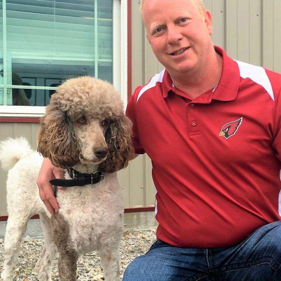 JenniferPuppies 'N Love and Animal Kingdom owner Frank Mineo Jr. visits Jennifer's kennel on 2016 breeder trip