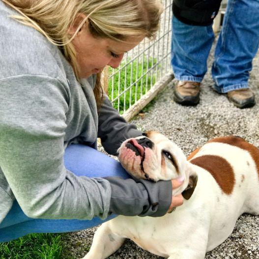 Puppies 'N Love & Animal Kingdom Animal Health Director Michelle L. on 2017 Breeder Trip
