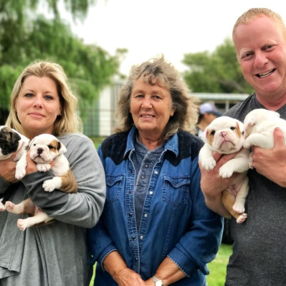 Puppies 'N Love & Animal Kingdom Owner Frank Mineo Jr. & Animal Health Dir. Michelle L. on 2017 Breeder Trip